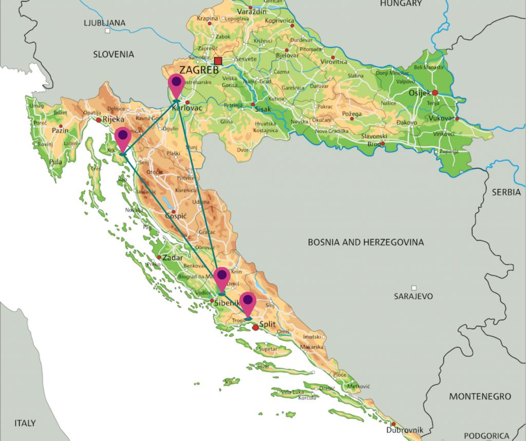 kinderrondreis authentiek Kroatie