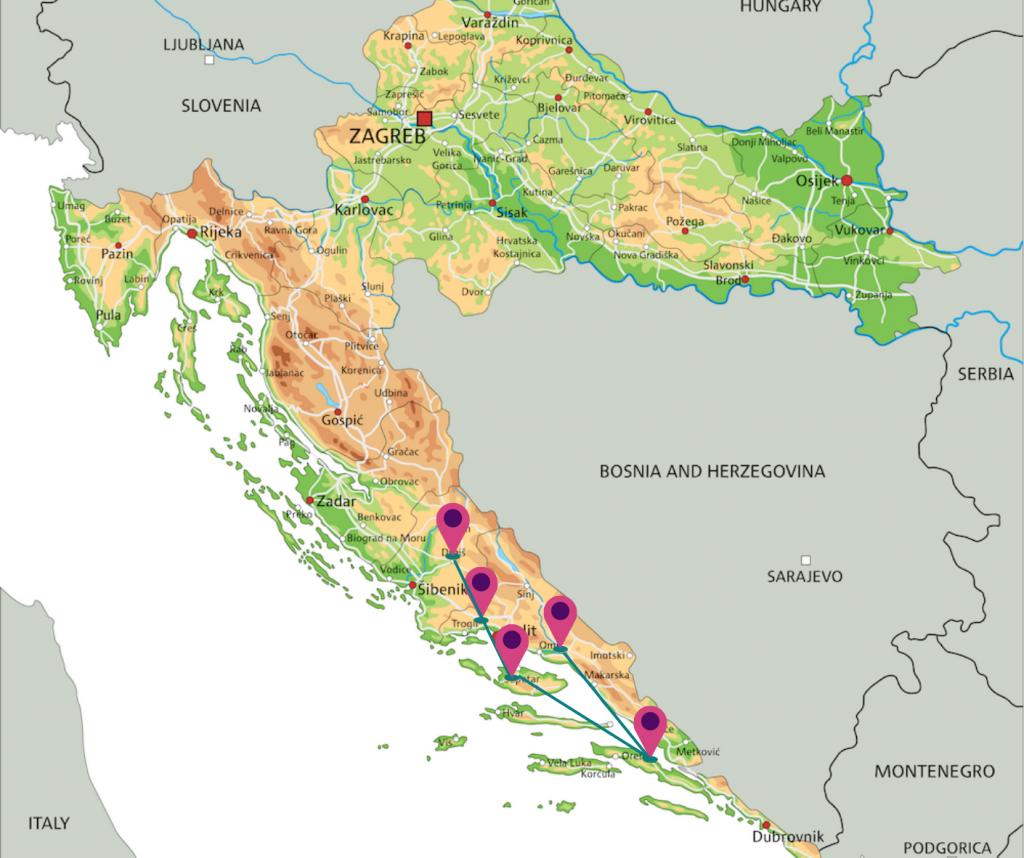 autorondreis kroatie-mediterrane verrassingen