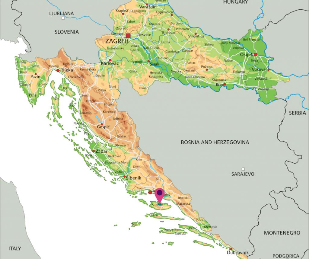 meivakantie kroatie-eiland Brac